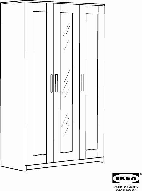 Lit Brimnes Ikea Occasion Fraîche Lit Brimnes Ikea Beau Manual Ikea Brimnes 3 Doors Wardrobe