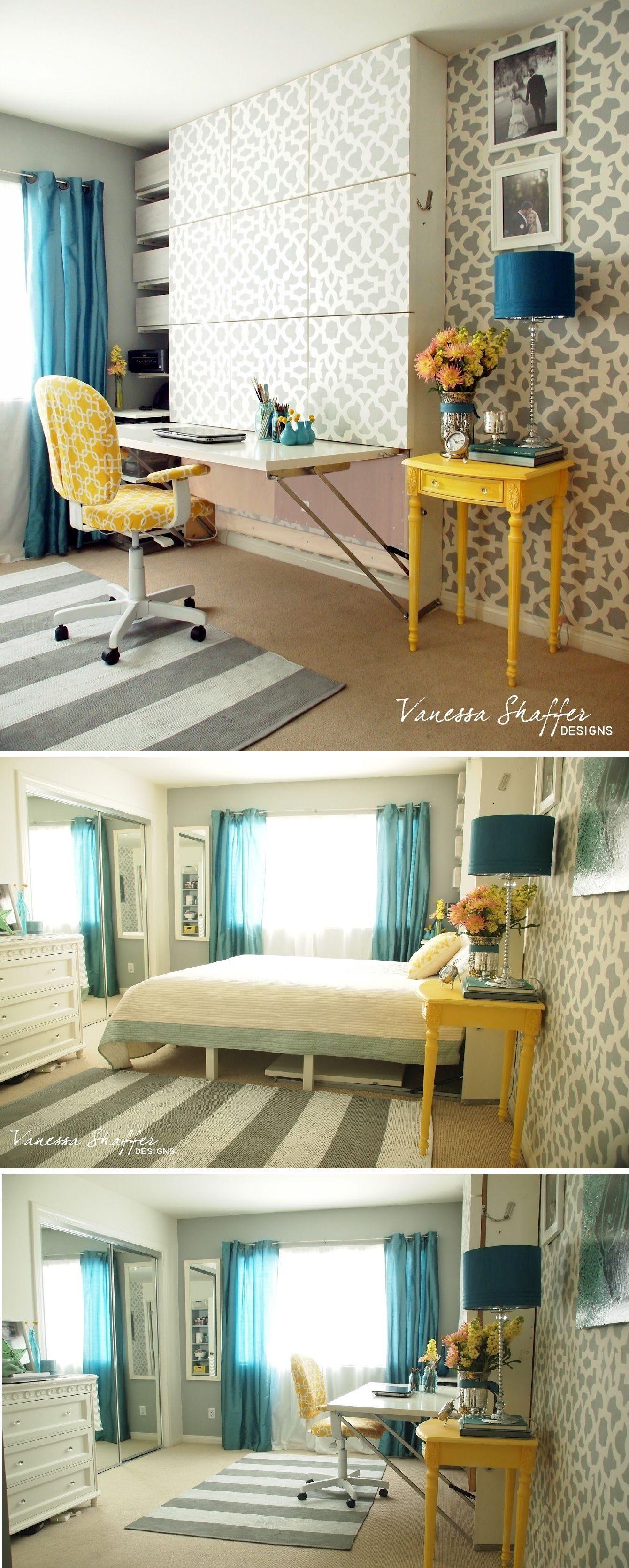 Lit Bureau Ikea Inspirant Ikea Hack the Murphy Bed Desk
