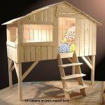 Lit Cabane Bebe Douce Fabriquer Un Lit Mezzanine Beautiful 40 Meilleur De Impressionnant