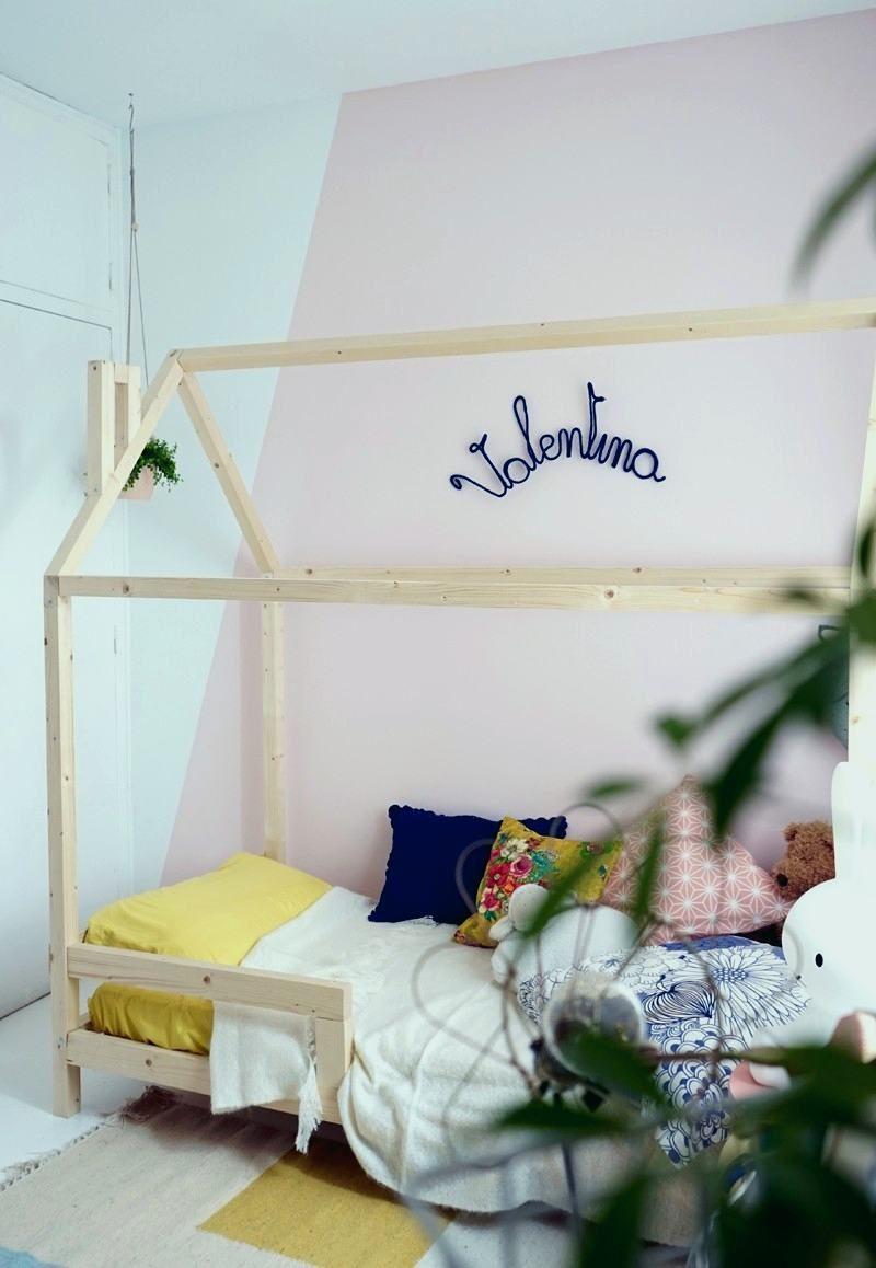 Lit Cabane Montessori Pas Cher Inspirant Lit Cabane sol élégant Diy Lit Cabane Lit Chambre Enfant Diy Lit