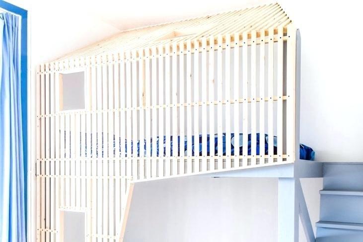 Lit Cabane Pas Cher Magnifique Fabriquer Un Lit Mezzanine Beautiful 40 Meilleur De Impressionnant
