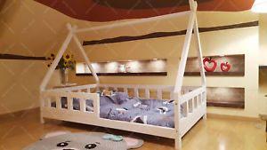 Lit Cabane Pour Enfant Beau Mon Lit Cabane Tipi Lit Pour Enfants Lit D Enfant Avec Barri¨re