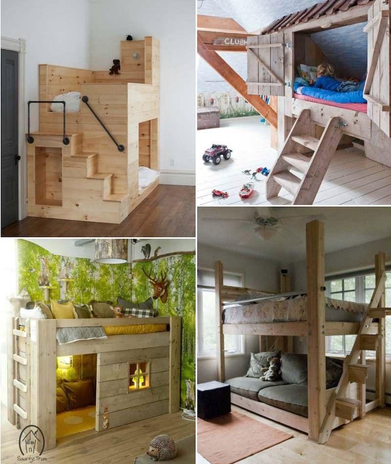 Lit Cabane Pour Enfant Génial Chambre Enfant original Beau Cabane Chambre Beautiful Fabriquer Un