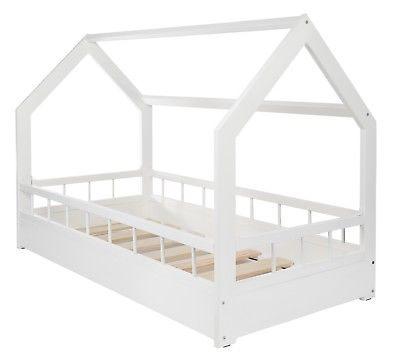 Lit Cabane Pour Enfant Joli Lit Maison Cabane 2 En 1 Avec Barreaux Chambre D Enfant Bois
