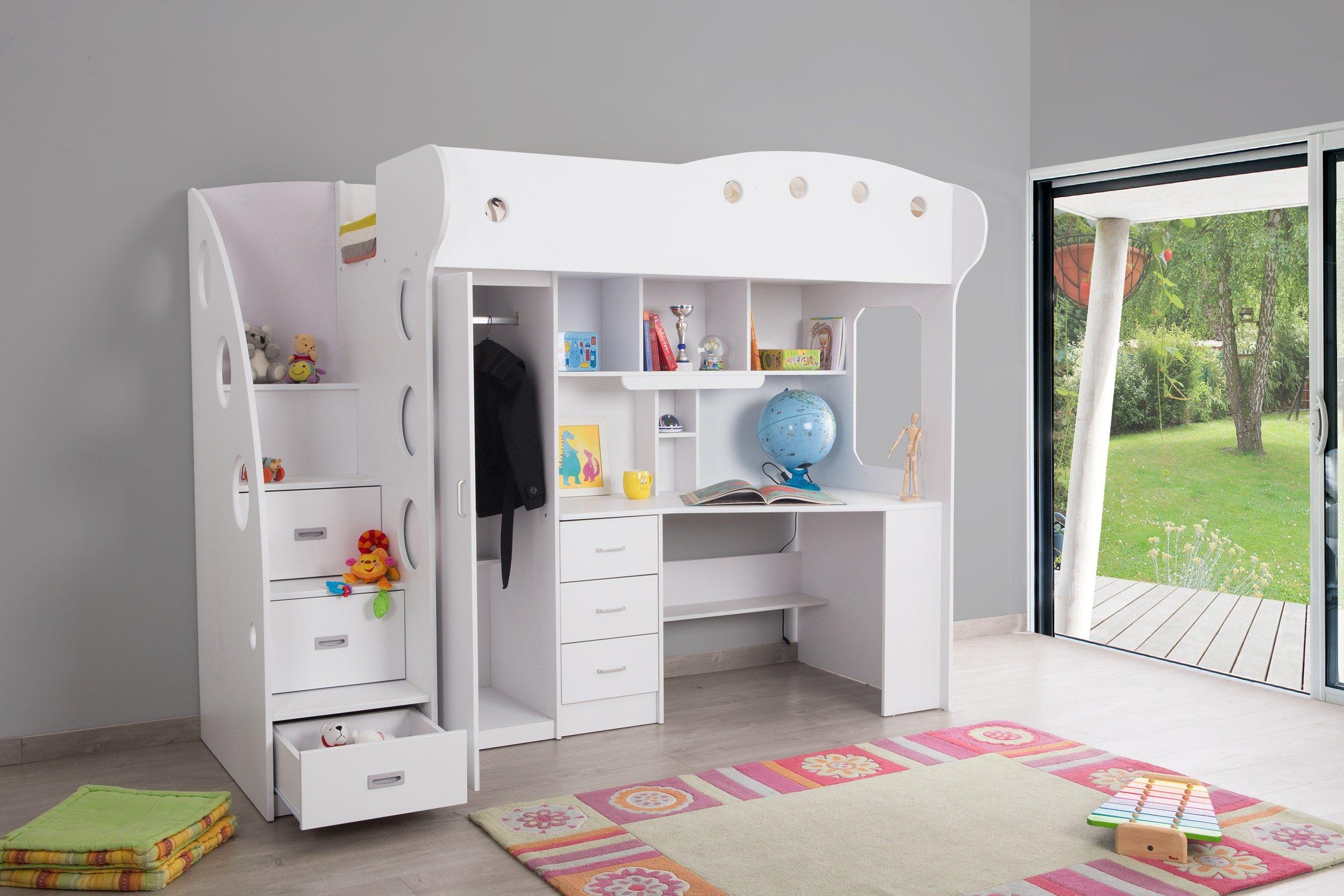 Lit Cabane Superposé Luxe Charmant Chambre Enfant Lit Superposé Et Lit Bine Ikea Maison Design