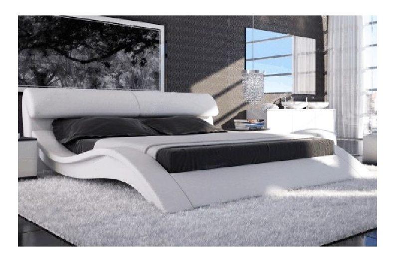 Lit Capitonné Blanc 160×200 Agréable Lit En 180 Lit Bateau En Ch Ne Massif 180 200 De Style Louis