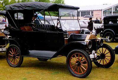 Lit Cars Enfant Belle ford Model T