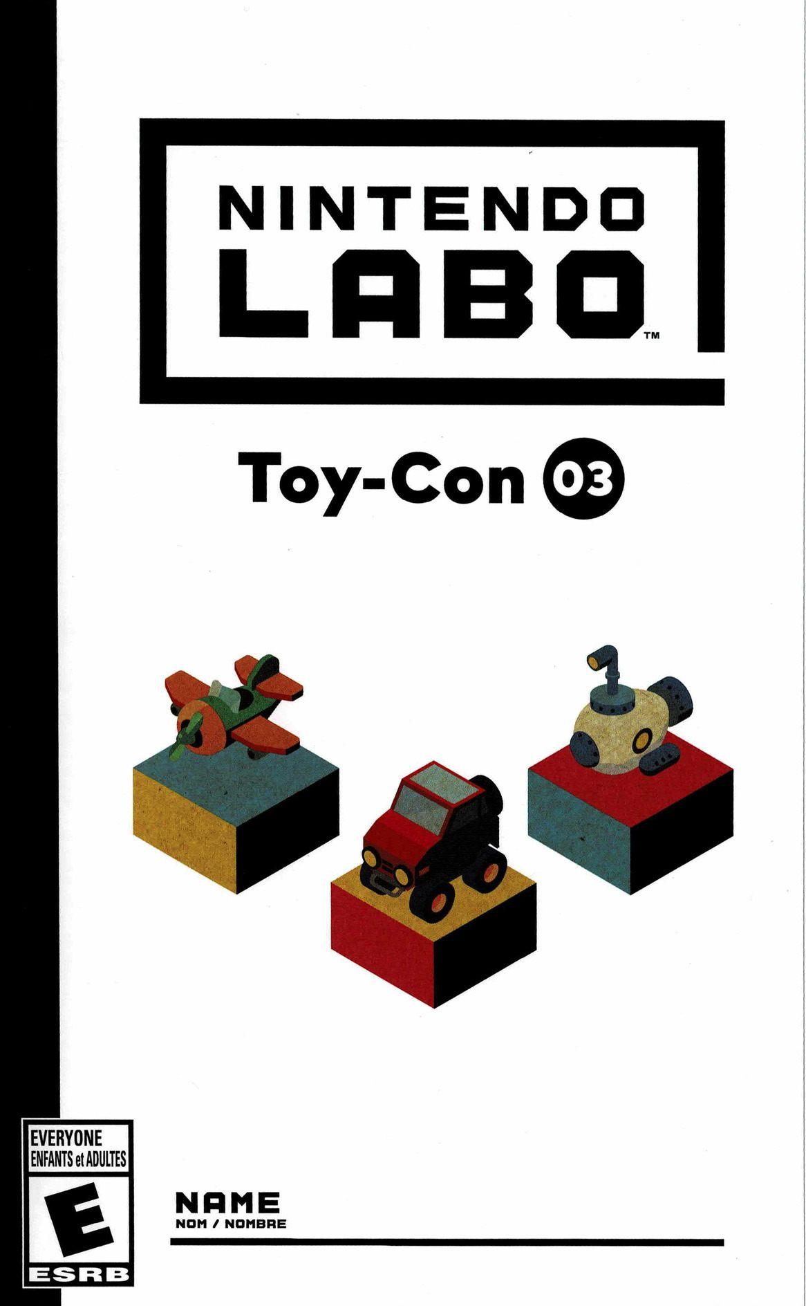 Lit Cars Enfant Le Luxe Adfwa Nintendo Labo toy Con 03 Vehicle Kit