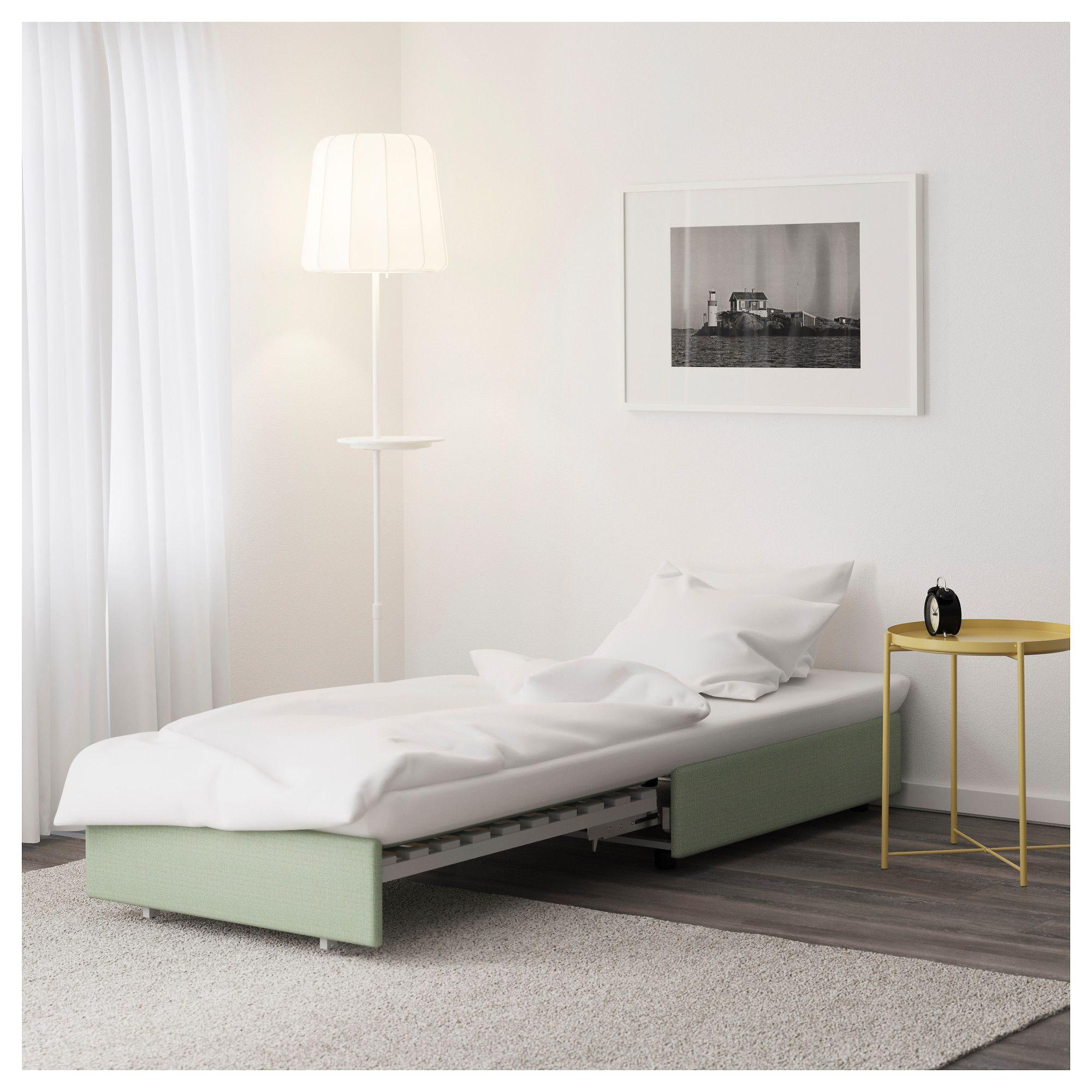 Lit Chez Ikea Fraîche Ikea Vallentuna Sleeper Seat Section Hillared Green