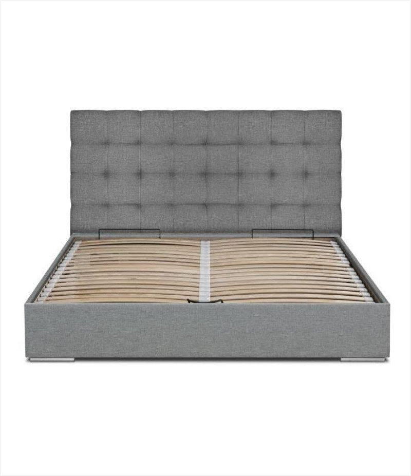 Lit Coffre 160x200 Avec Matelas mentaires Sumberl Aw
