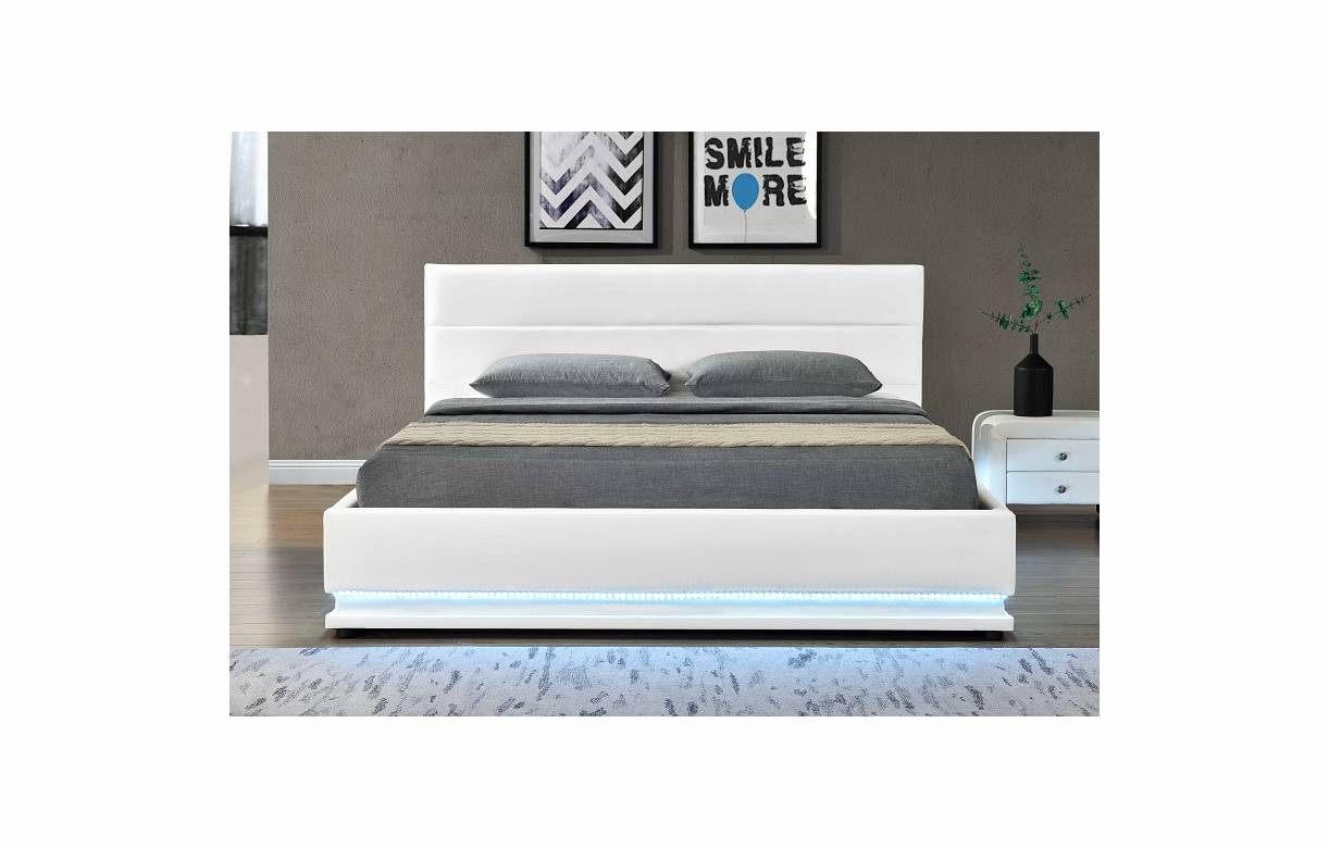 Lit Coffre 140×190 Blanc De Luxe Tete De Lit Blanche 140 Impressionnant Stock Lit Coffre 140—190 Bois