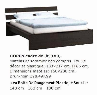 Lit Coffre 140×190 Ikea Inspirant 76 Conception Lit Avec Rangement sous sommier