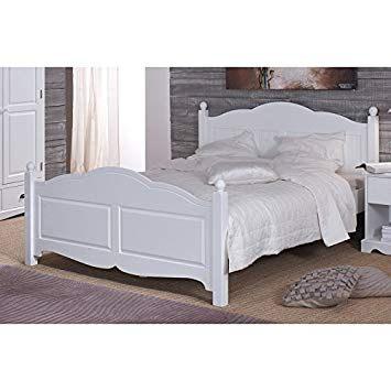 Lit Coffre 160x200 Blanc Charmant Actual Diffusion Windsor Lit Blanc 2 Places 160 X 200 Avec Sommier