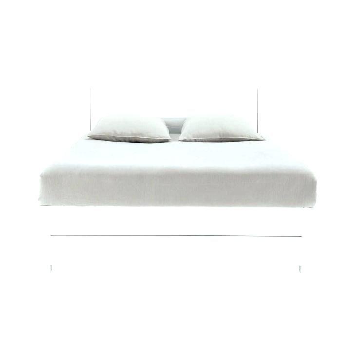 Lit Coffre 160×200 Fly Frais Lit 2 Places Blanc Laque Fly Lit Blanc Full Size Lit Blanc 90—190