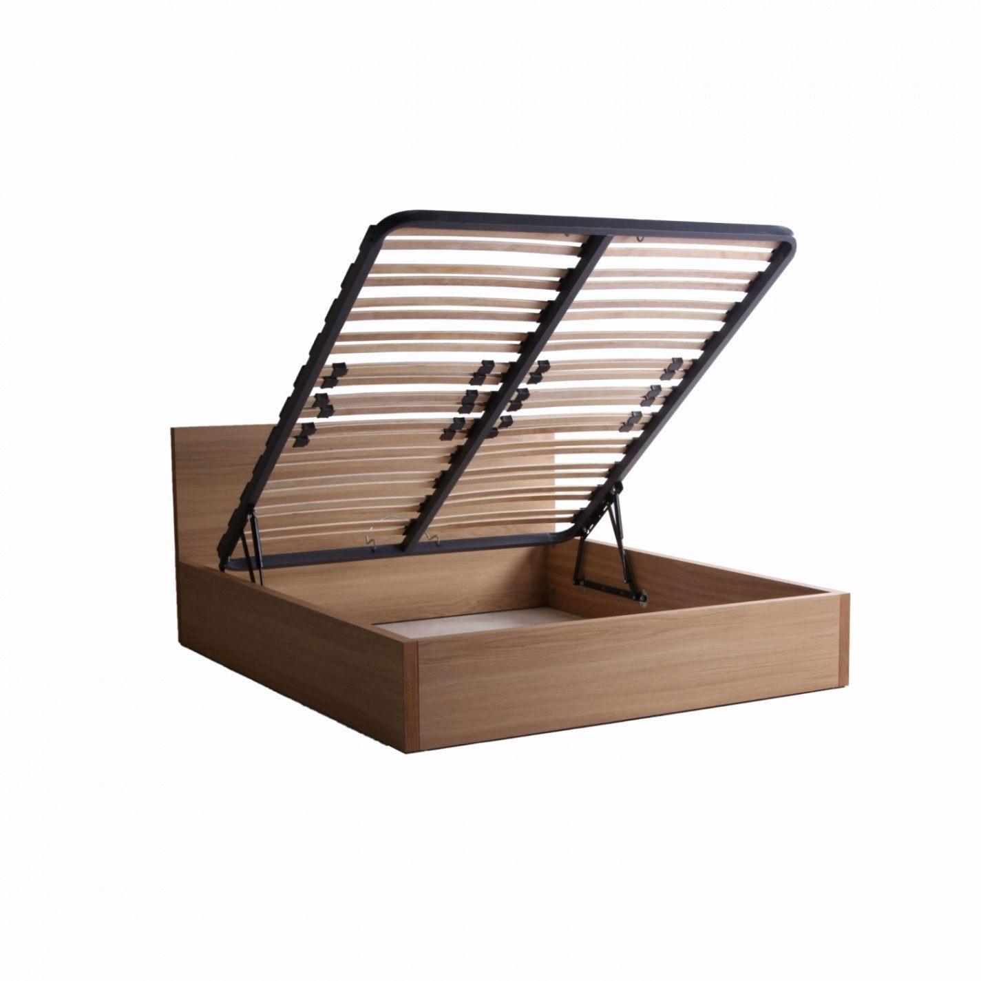 Lit Coffre 160×200 Tissu Inspirant Lit Coffre 160 — Mikea Galerie