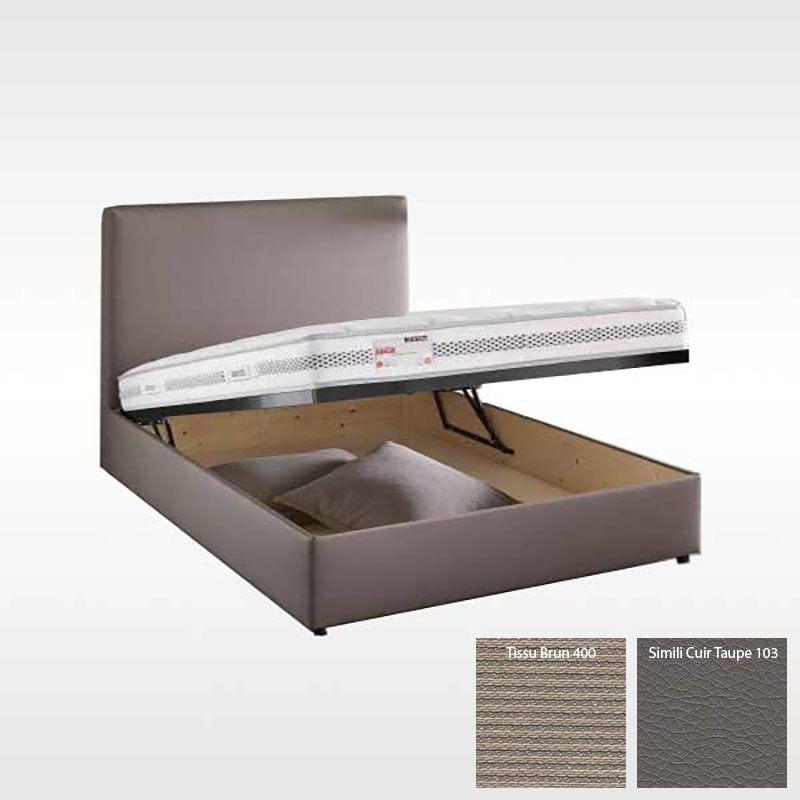Lit Coffre 160×200 Tissu Nouveau Le Lyre Page 94 Sur 150