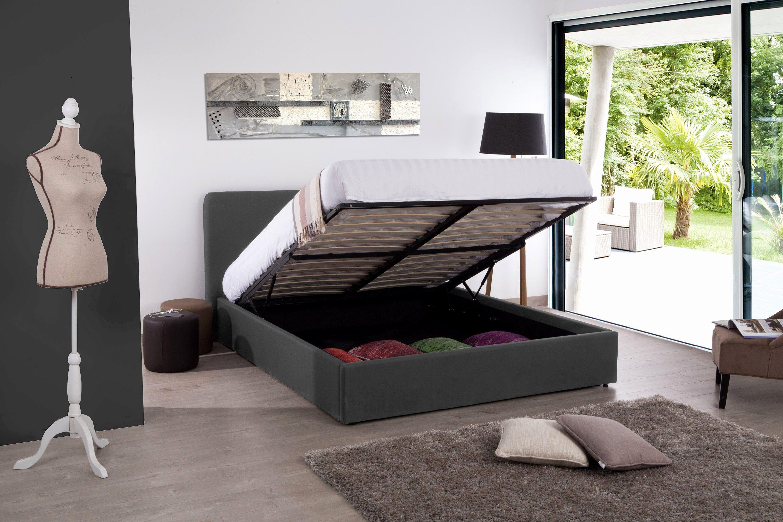 Lit Coffre 180x200 Ikea Bel Lit Pas Cher 180—200 élégant Lit 180—200 Avec Tiroir Maison Design