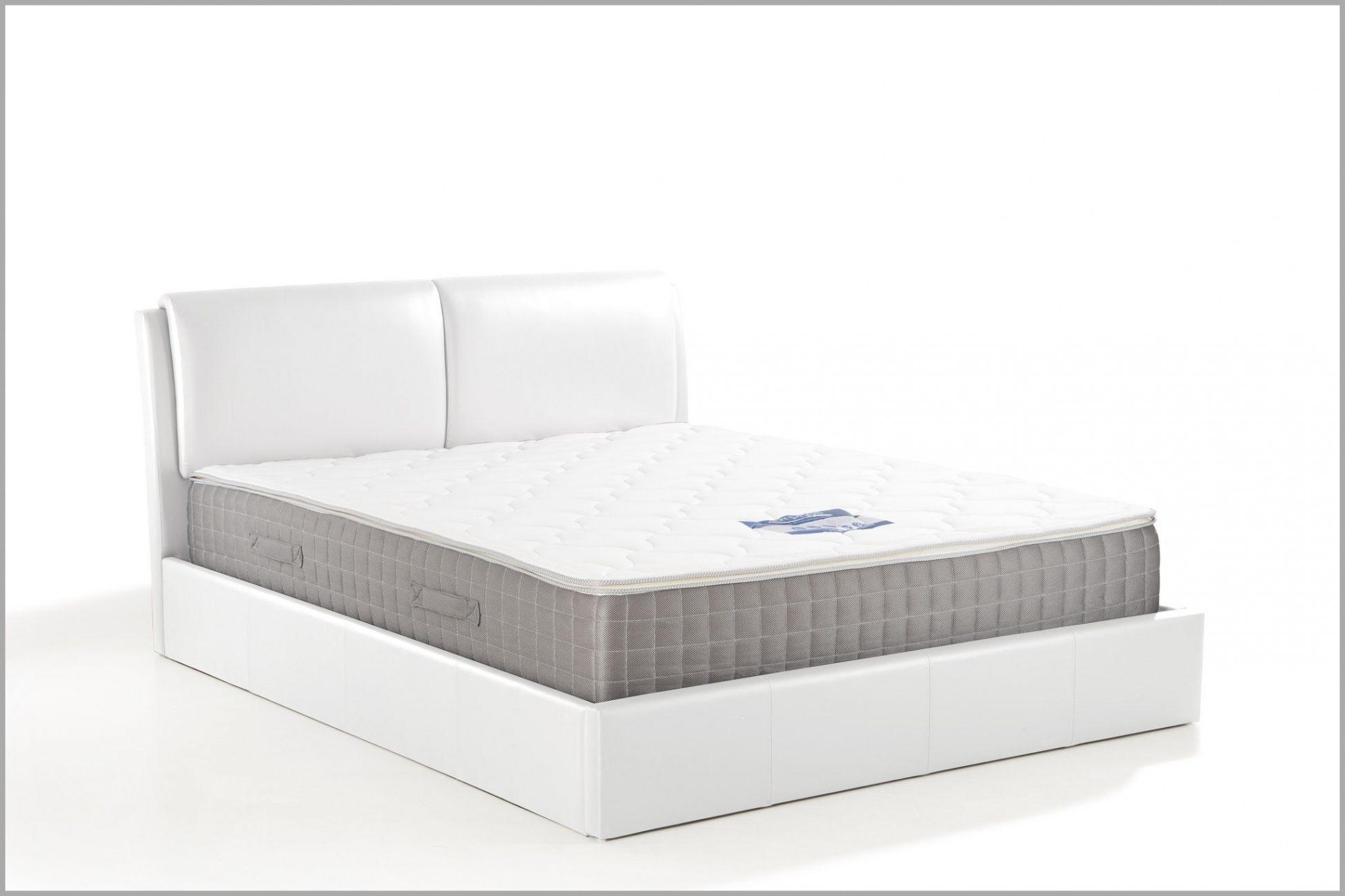 Lit Coffre 140x190 Blanc — Laguerredesmots