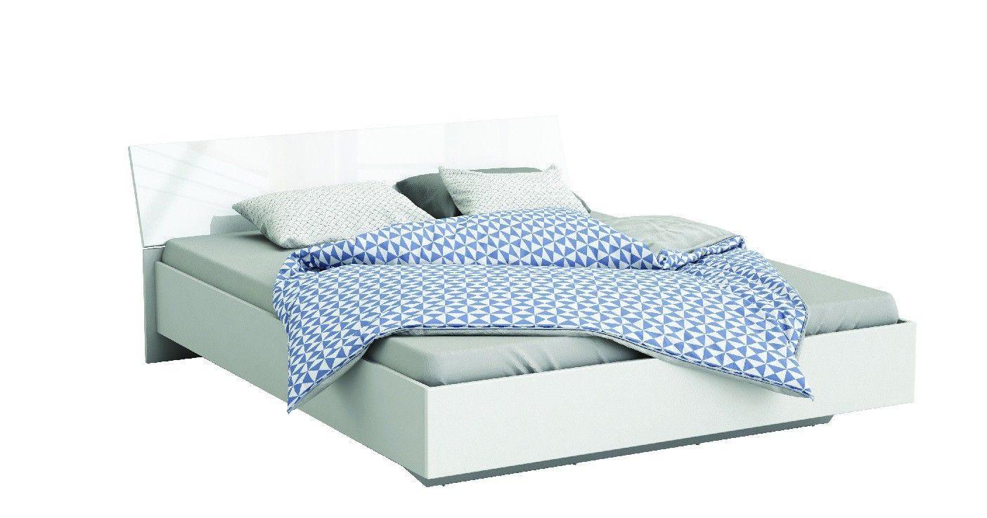 Lit Coffre Blanc 140×190 De Luxe Lit 140×190 Bois