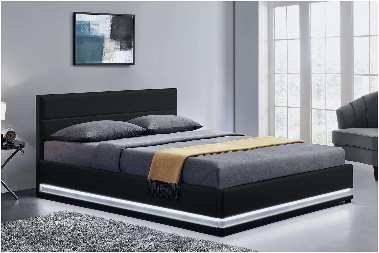 Elégant Lit Moderne 160—200 Elegant Lit Coffre 160—200 Cm Syla Pu
