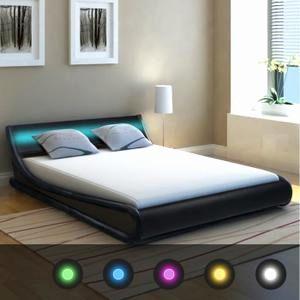Lit Coffre Led 160×200 Douce Lit Moderne 160—200 Luxe Futon 160—200 Best Classy Design Ideas Lit