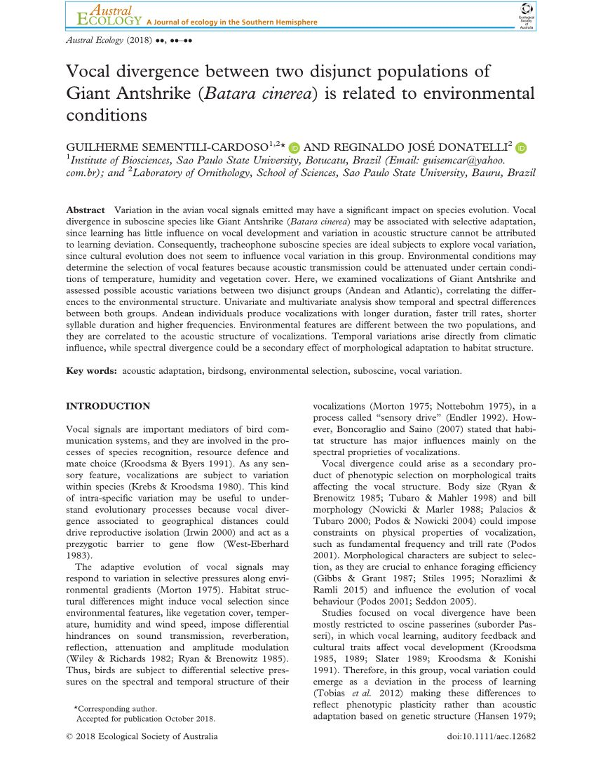 Lit Combiné Bébé Beau Pdf the Importance Of Suboscine Birds as Study Systems In Ecology