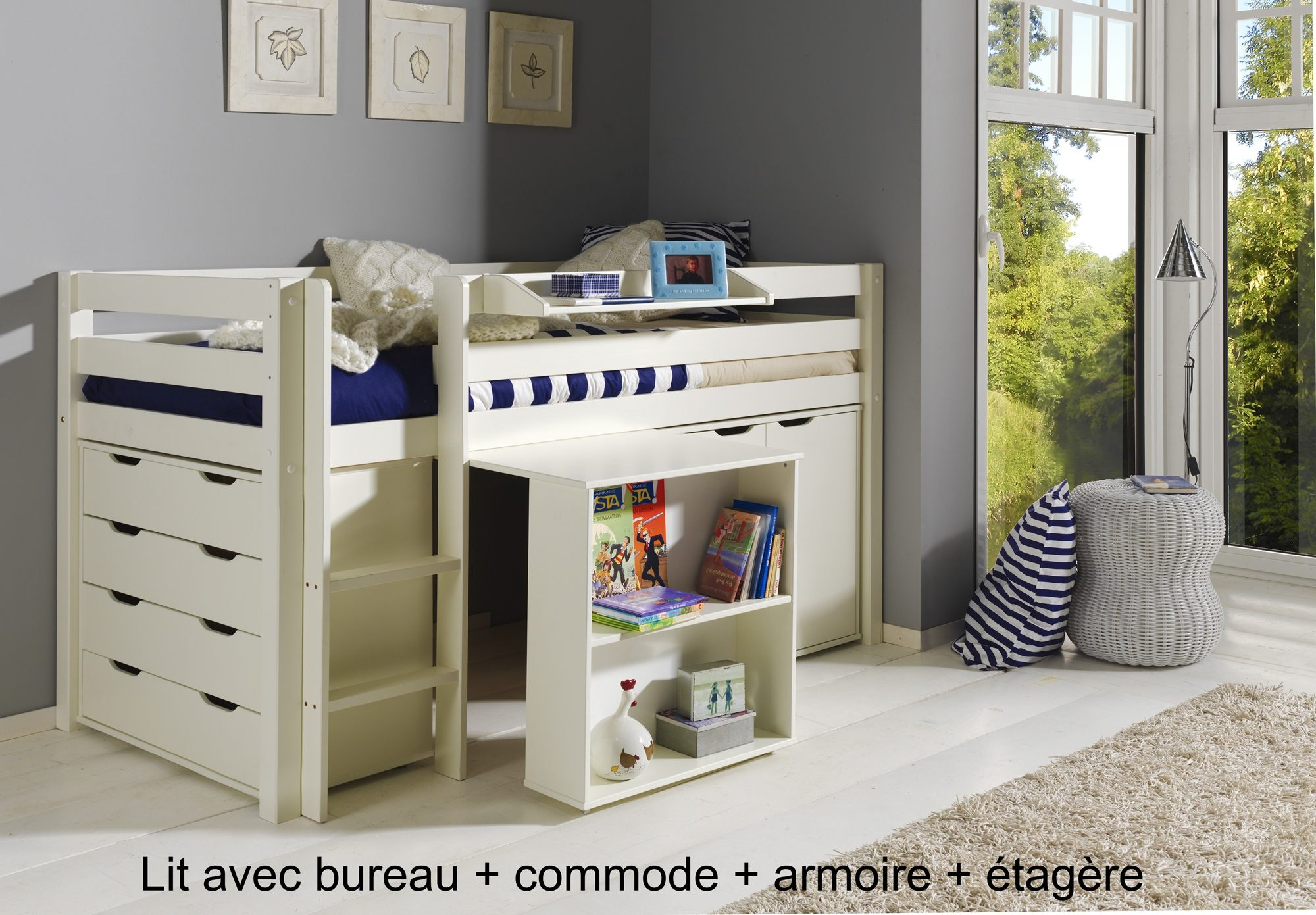 Lit Combiné Bureau Ikea Douce Intéressant Lit Biné Armoire Bureau  Lit Biné Armoire Fresh Lit