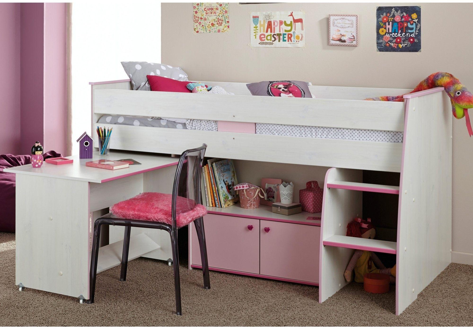 Lit Combiné Mezzanine Agréable Lit Biné Armoire Lovely Lit Bureau Armoire Biné élégant Lit