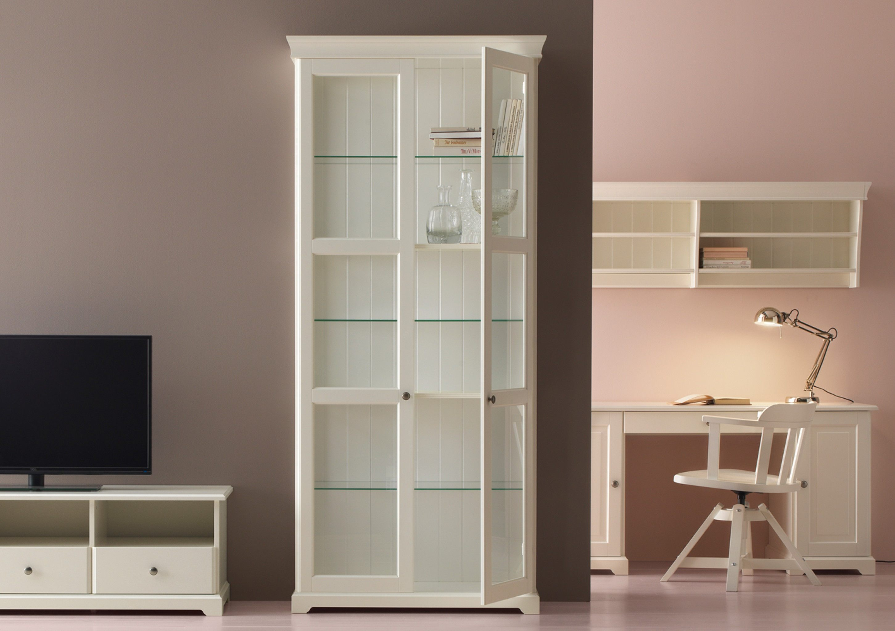 Lit biné Mezzanine Bureau Armoire élégant Bureau Fer forgé Ikea