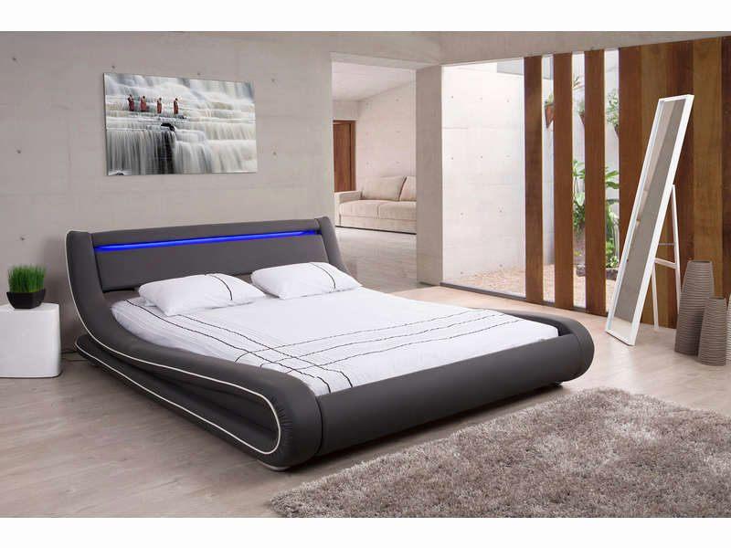 Lit Conforama 160×200 Joli Lit Adulte Avec Led Frais Lit Avec sommier 160—200 Maison Design