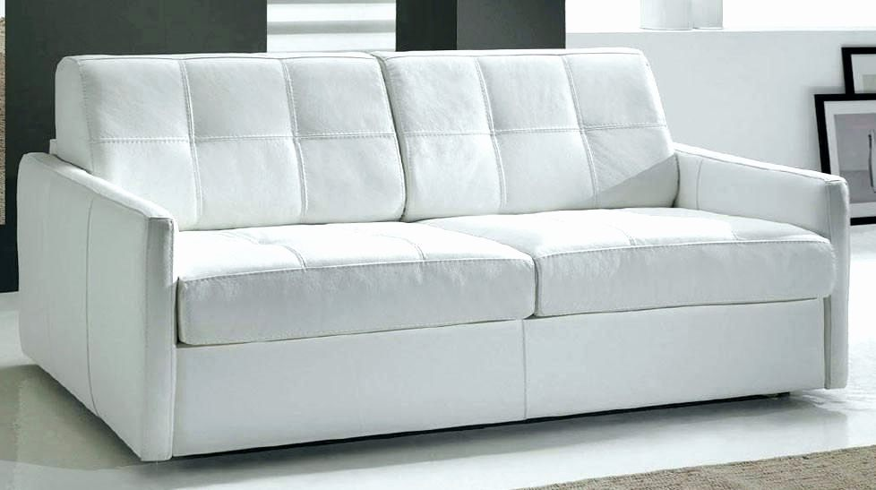 Lit Convertible 2 Places Luxe Canape Convertible Cuir Blanc Convertible Cuir 2 Places Frische