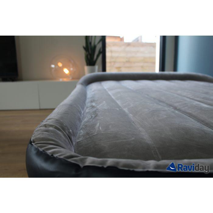 Lit D Appoint 2 Places Élégant Intex Rest Bed Deluxe Fiber Tech 2 Places Matelas Gonflable