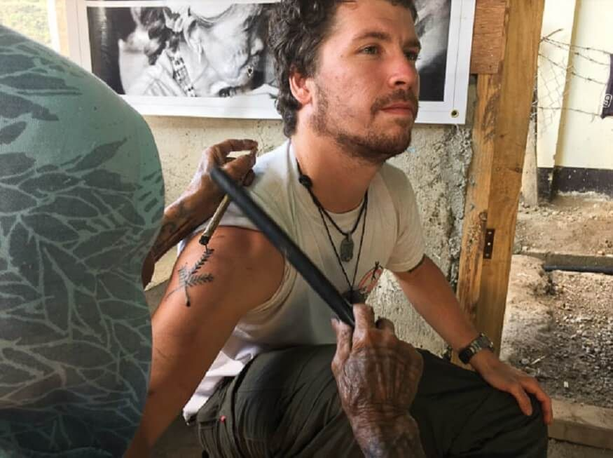 Lit De Camp 2 Places Magnifique Getting Inked by the Legendary Tribal Tattooist Whang Od Hostelworld