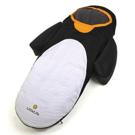 Lit d appoint gonflable pour enfant Pingouin