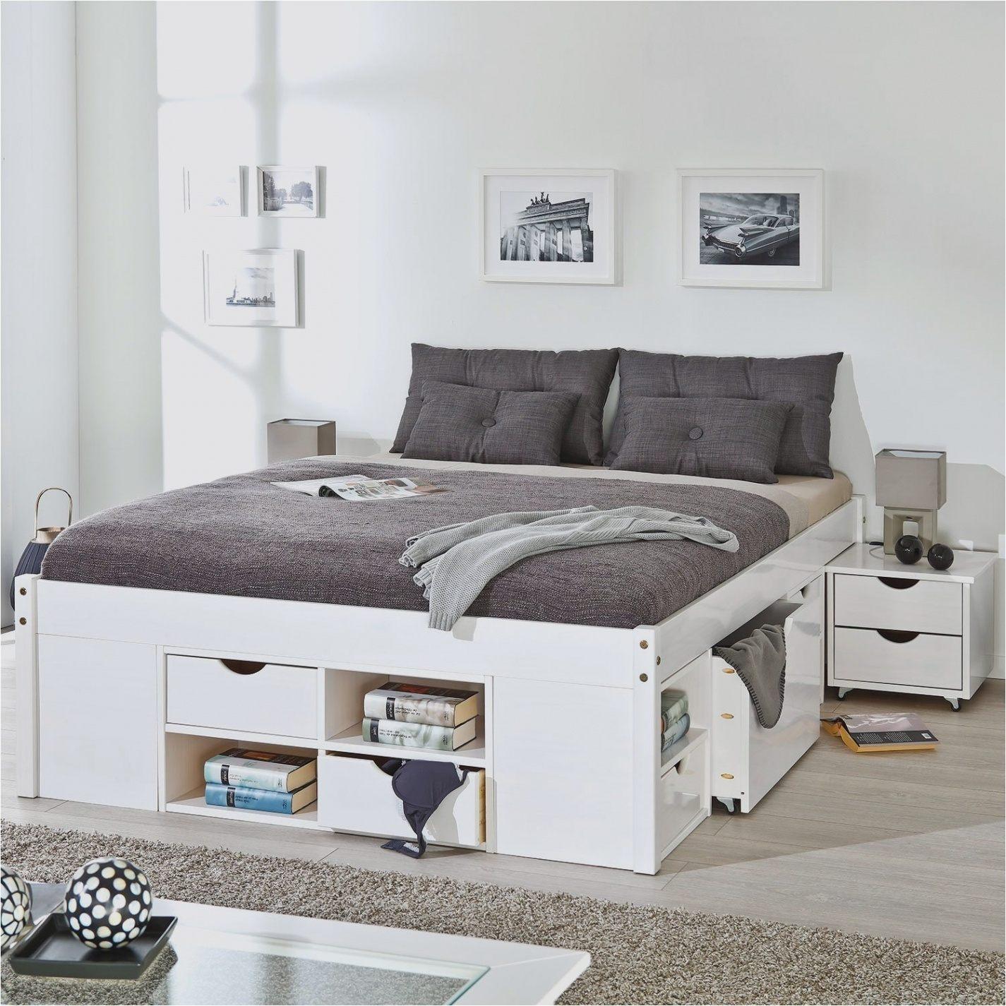 Lit Design 160×200 Agréable Lit Design 160×200 Lit Baldaquin 160×200 En Pin Blanc Cassé Lit De