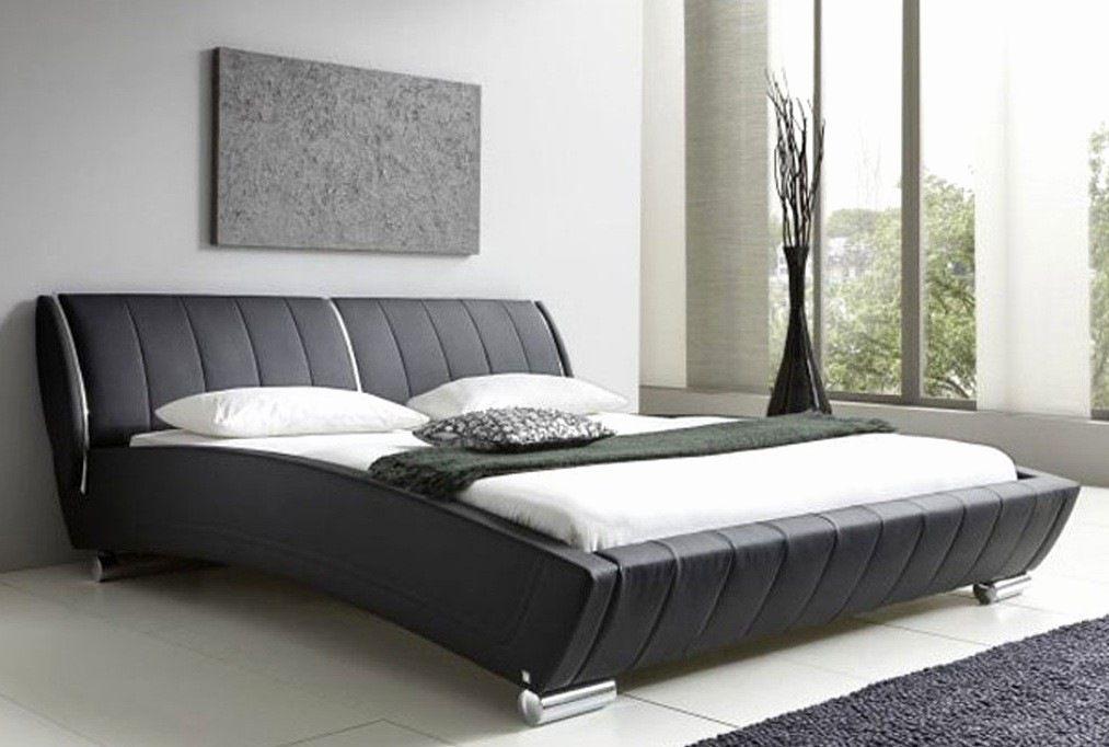 Lit Design 160×200 Bel Lit 160—200 Design Beau sommier Rangement Unique Matelas Redoute