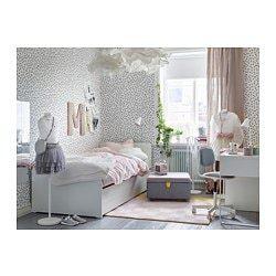 """Lit Design Led 160×200 Beau Sl""""kt Rama ł³Å¼ka Z ł³Å¼kiem Dolnym Pojem Ikea"""