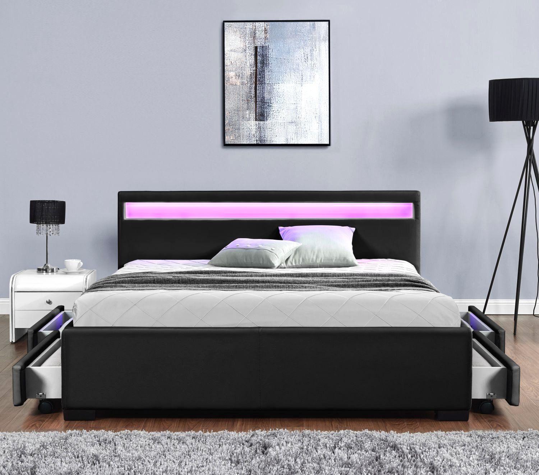 Lit Design Led 160×200 Frais Sumptuous Design Lit Noir 64 org Avec Crafty Design Lit Noir 2 Et