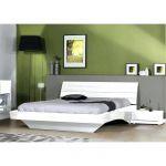 Lit Deux Personnes Pas Cher Beau Lit Design 140—190 Lit Design Piki Blanc 140—190 Achat Vente