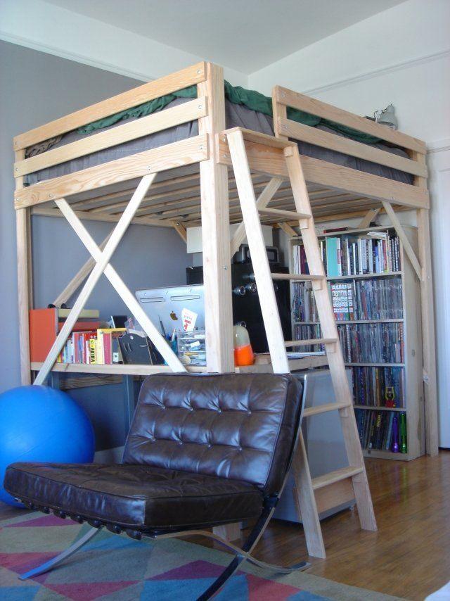 Lit Deux Places Dimensions Beau Lit Mezzanine Deux Places Fonctionalité Et Variantes Créatives