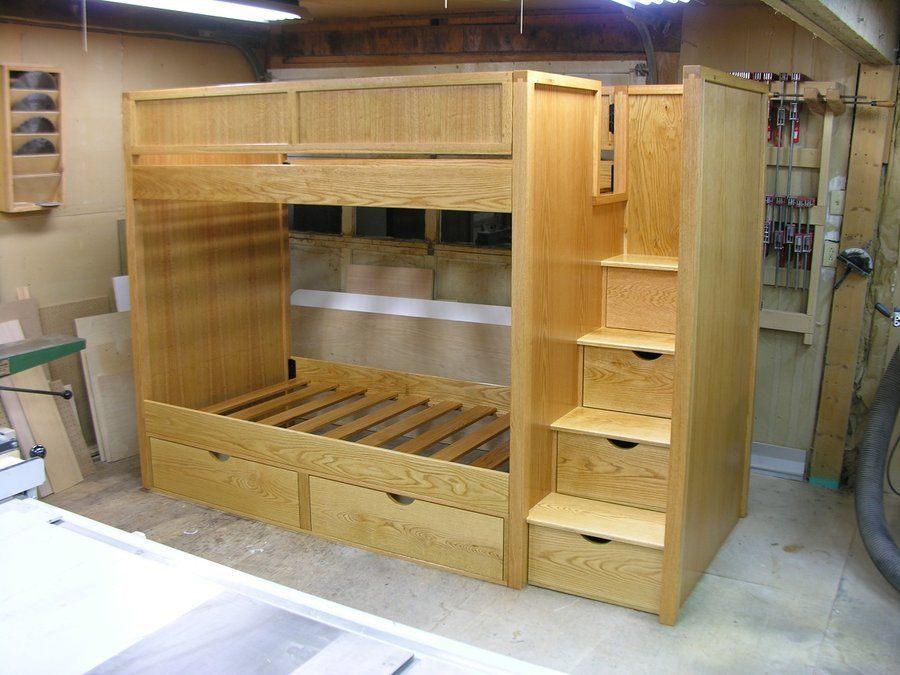 Lit Deux Places Dimensions Élégant Bunk Bed Plans