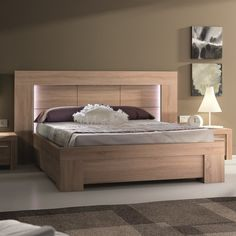 Lit Double Bois Charmant Lyra Dual tone [rs 22 800] A Double Bed Available On