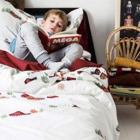 Lit Double Bois Inspiré Bed Linen Olivier Desforges