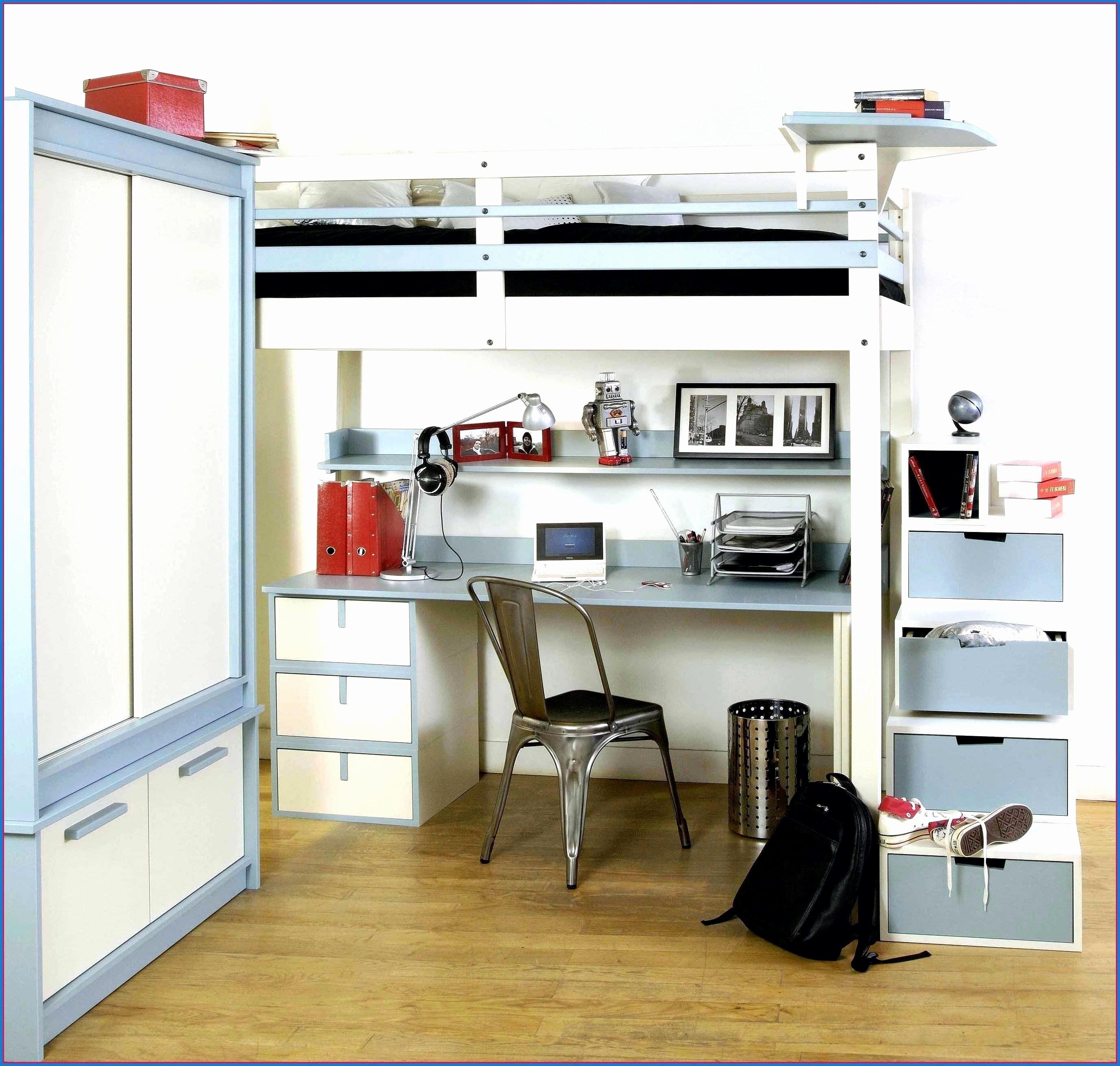Lit Double Mezzanine Le Luxe Lit Mezzanine Armoire Einzigartig Lit Mezzanine Avec Bureau