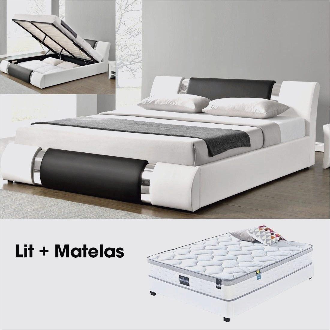 Lit Double Pas Cher Avec sommier Et Matelas Bel Lit Electrique Moins Cher Lit Relaxation électrique Tpr Prelude Lit