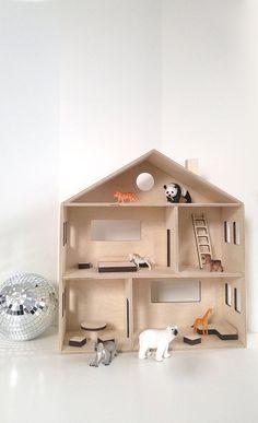 Lit En Bois Poupee Frais 112 Meilleures Images Du Tableau Wooden Dollhouse Neutral Dollhouse
