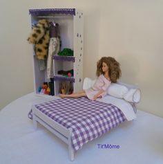 Lit En Bois Poupee Impressionnant 75 Meilleures Images Du Tableau Meubles Pour Poupée Barbie
