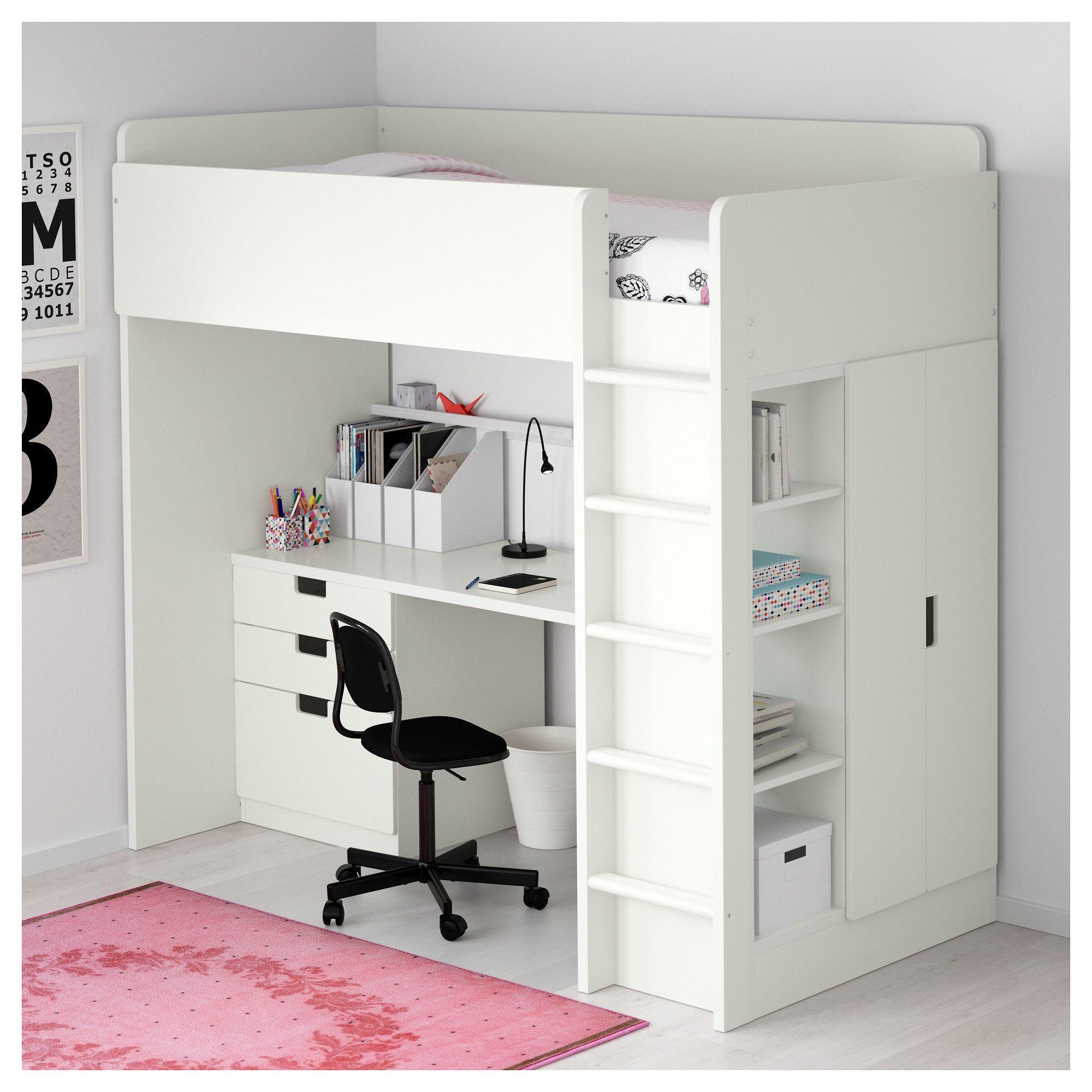 Lit En Fer forgé Ikea Charmant Lit Biné Mezzanine Bureau Armoire élégant Bureau Fer forgé Ikea