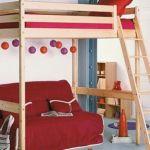Lit En Hauteur Enfant Inspirant 76 Idées De Design Lit Mezzanine Enfant Avec Bureau Meubles