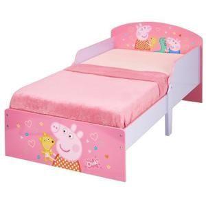 PEPPA PIG Lit pour enfants Rose 140 x 70 cm lit peppa